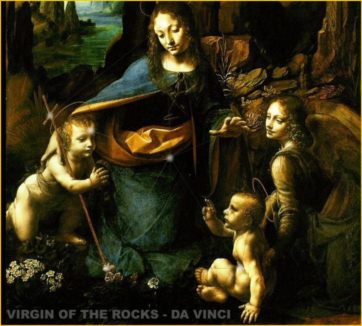 Da Vinci | Mystery of the Iniquity Da Vinci Paintings Hidden Messages