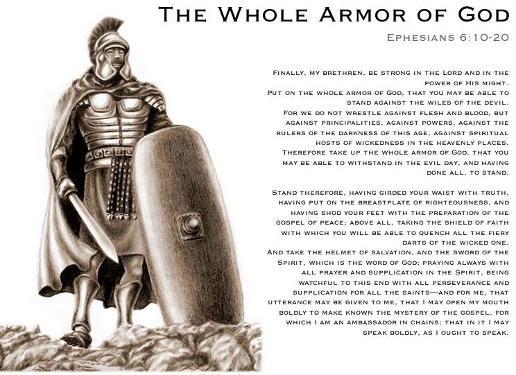 the armor of god. ARMOR of GOD « Mystery of the