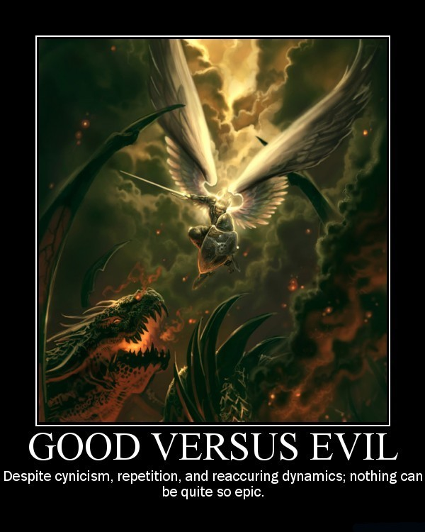 """good vs evil 5 essay Good vs evil in """"a good man is hard to find"""" essay 1052 words 