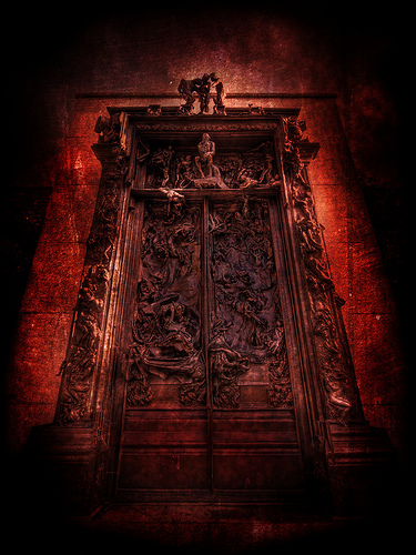 Guardians of the gates of hell mystery of the iniquity - Porta inferno dante ...