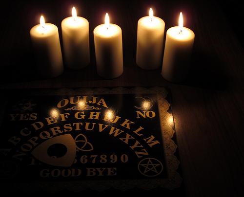 Ouija Squeegee-GET THEM DEMONS OUT! 72