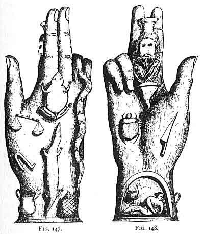Black Hand Symbols Ward Off Evil Spirits Clipart Library