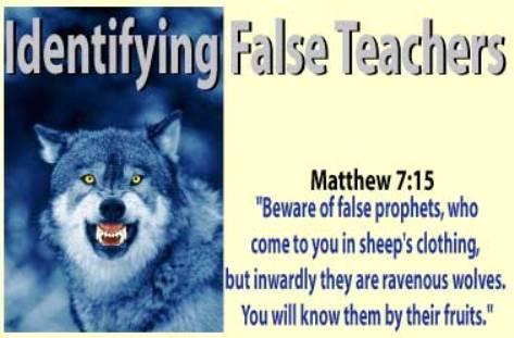 valse leraren, profeten