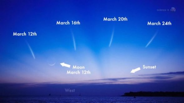 comet-panstarrs-march-2013