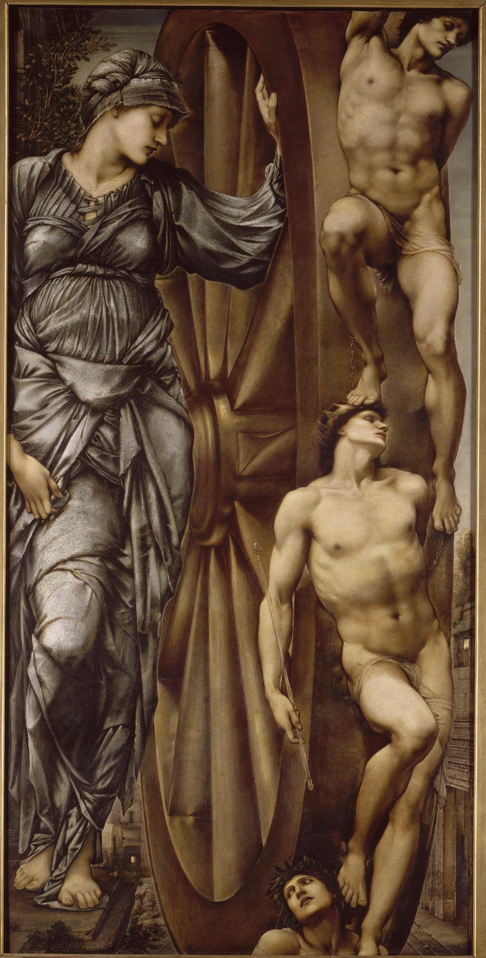 Edward Burne-Jones: The Wheel of Fortune.