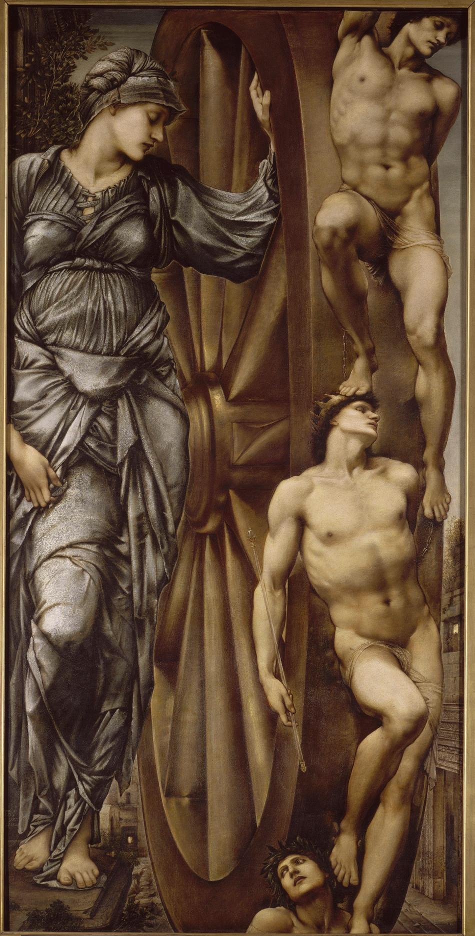 Edward Burne-Jones: The Wheel of Fortune.