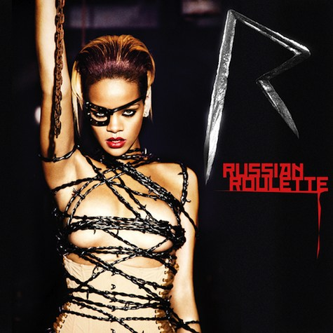 rihanna-russian-roulette-promo-photo-single-barbed-wire-eye-of-horus-patch-freemason-illuminati-devil