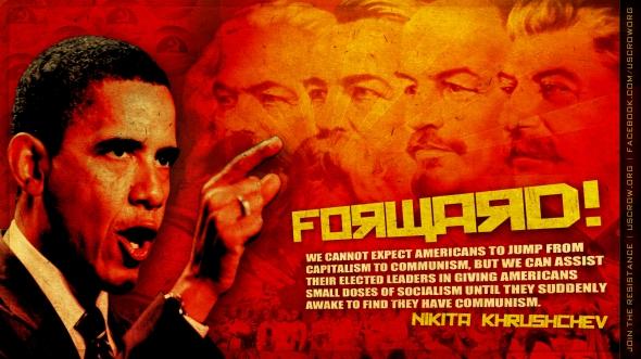 Communist-Obama