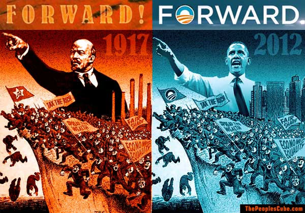 obama-forward-campaign-slogan-is-communist