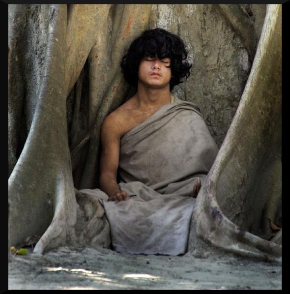 ram_bahadur_bamjan_meditating