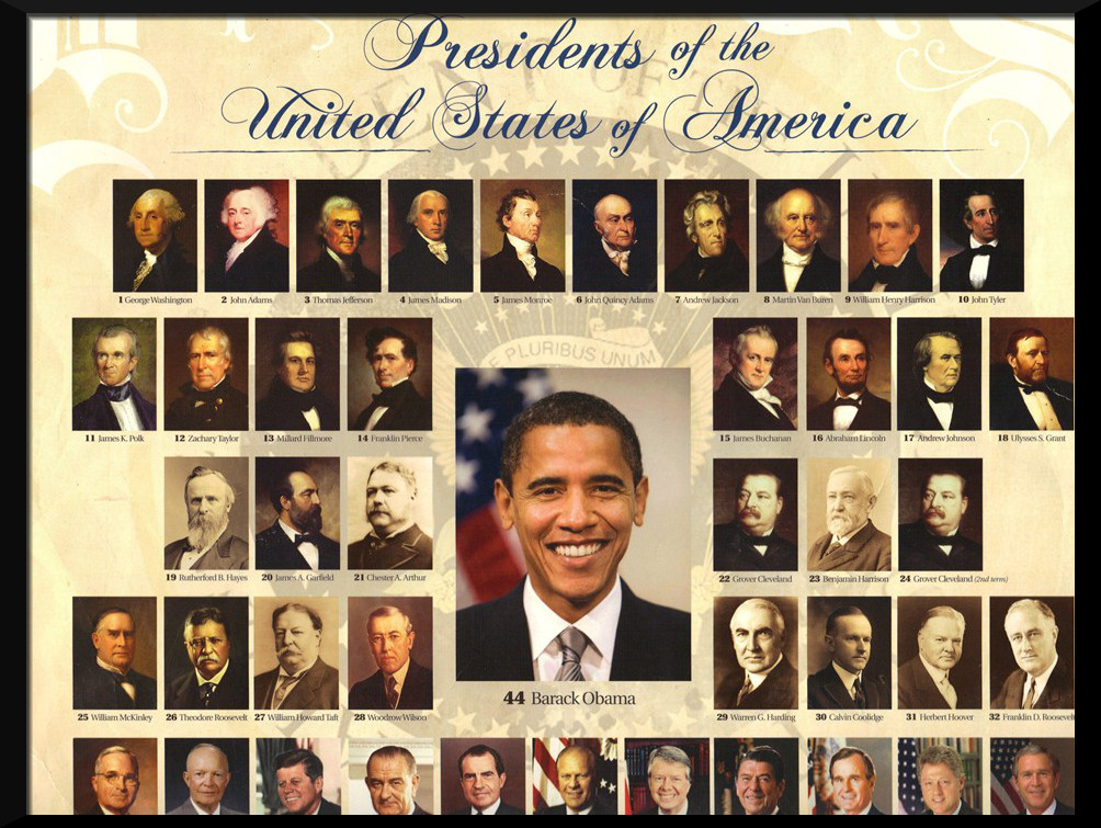 Us President Names With  Letters