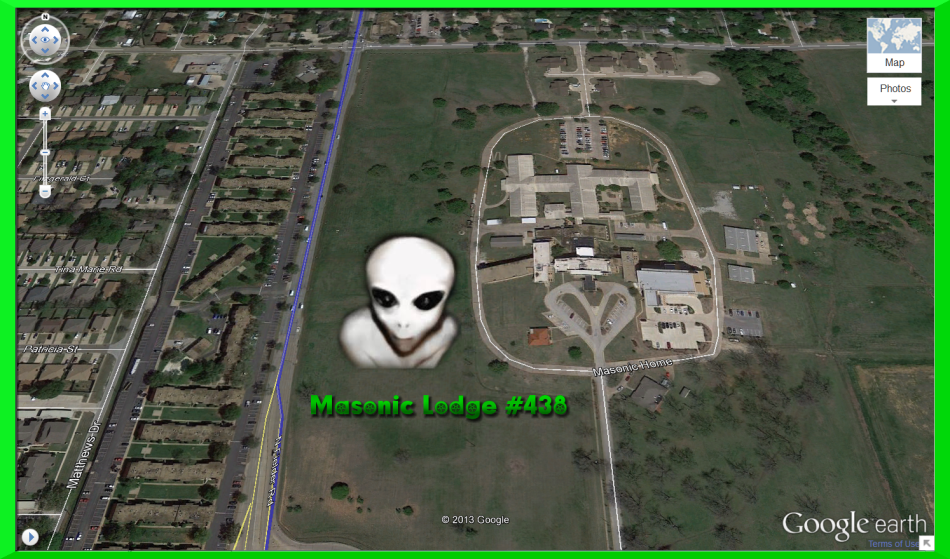 Masonic Alien Lodge