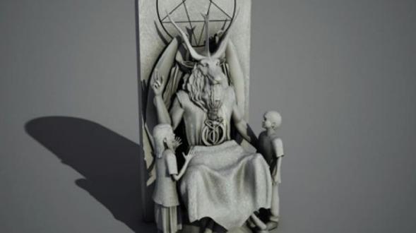 Satanic-monument