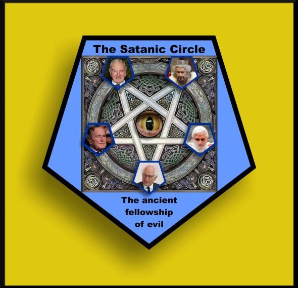Illuminati bloodlines. The Satanic Circle. The ancient fellowship of evil. #1ab. (1)