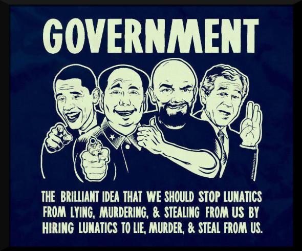 lunatics to lie murder & steal from us