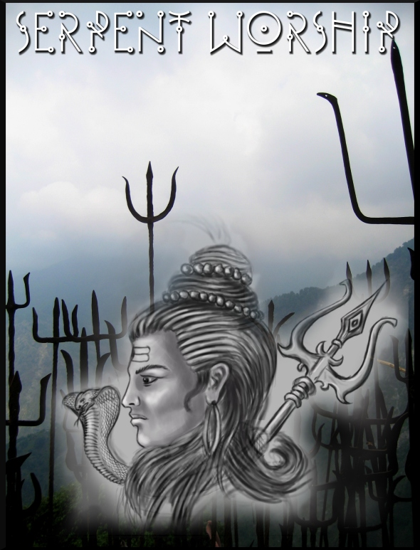 Tridents_(Trishul)_brought_as_offerings_to_Guna_Devi.,_near_Dharamsala,_Himachal_Pradesh