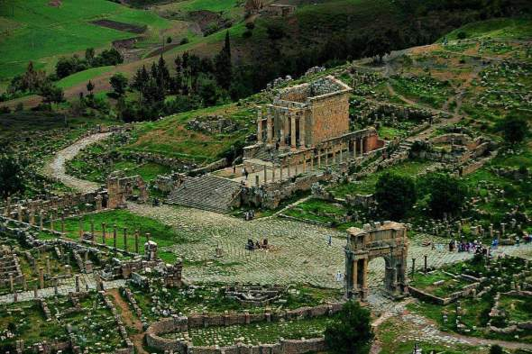Djemila-Algeria
