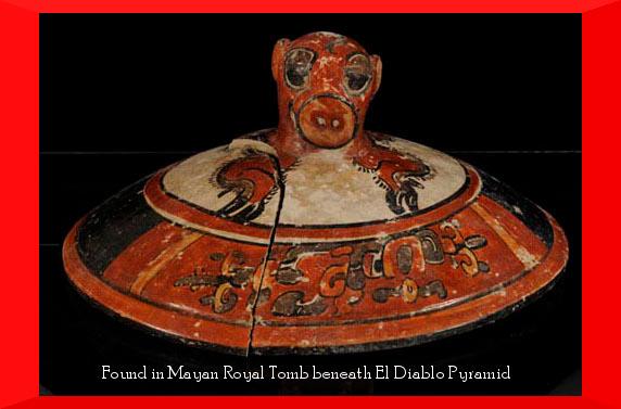 Maya Royal Tomb Found Beneath El Diablo Pyramid
