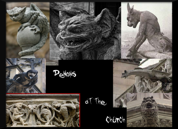 demons at the church