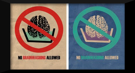 no brainwashing allowed