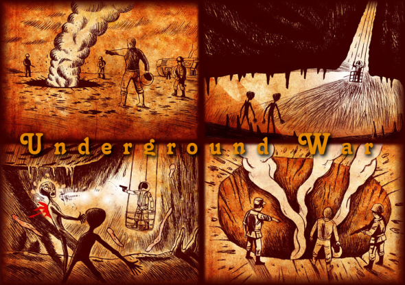 underground-alien-battle