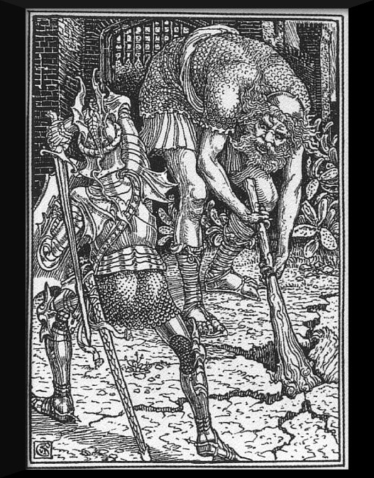 Walter_Crane_King_Arthur_and_the_Giant_Book_I,_Canto_VIII