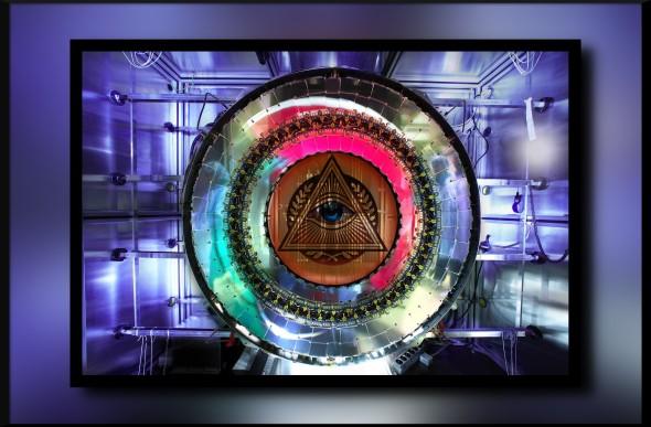 Resultados imagens LHC, satânico