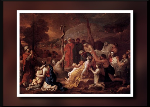Bourdon,_Sébastien_-_Moses_and_the_Brazen_Serpent_-_1653-1654