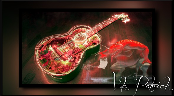 Beautiful-Lighting-Guitar-Wallpaper-Image