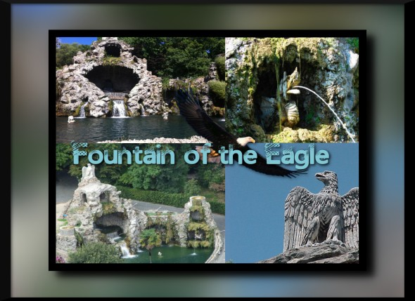 fountain of the eagle
