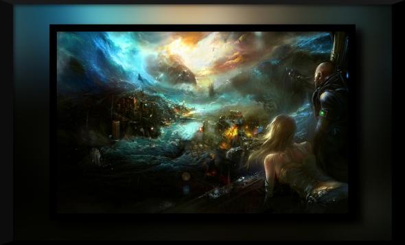 rain futuristic apocalypse fantasy art artwork 1920x1200 wallpaper_www.wallpaperhi.com_88