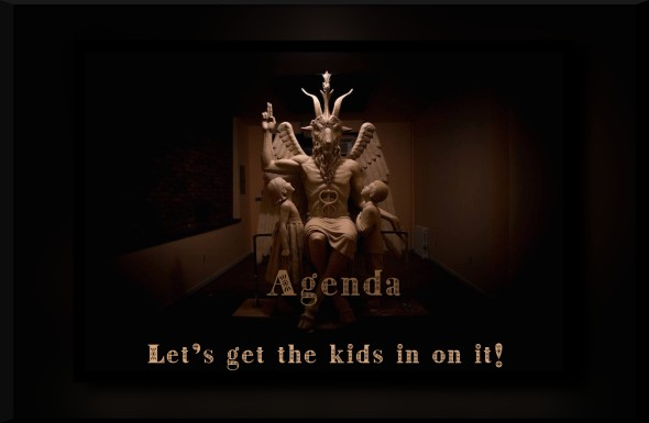 satanictemplestatue